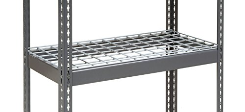 Nexel RLX318W Rivet Lock Extra Heavy Duty Shelving with Wire Deck 3