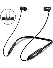 ELEGIANT Bluetooth Kopfhörer, In Ear Sport Kopfhörer Wireless Earphone drahtlos Kopfhörer IPX6 wasserdicht Stereo Bass Sport Ohrhörer 8 Stunden Spielzeit+Magnetverschluss +CVC 6.0 Geräuschreduzierung