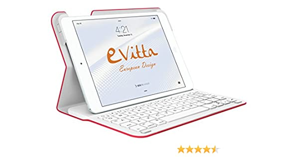 E-Vitta Keytab - Funda con Teclado y Bluetooth para Apple iPad ...