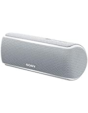 Sony SRS-XB21 Extra Bass Waterproof Wireless Speaker with Bluetooth, White