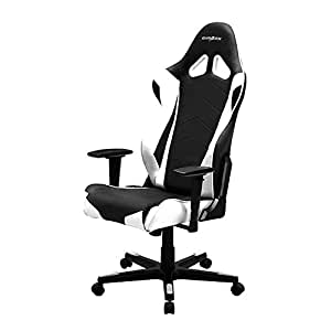 DXRacer Racing Series DOH/RE0/NW Newedge Edition Racing Bucket Seat Office Chair Gaming Chair Ergonomic Computer Chair Esports Desk Chair Executive Chair Furniture with Pillows