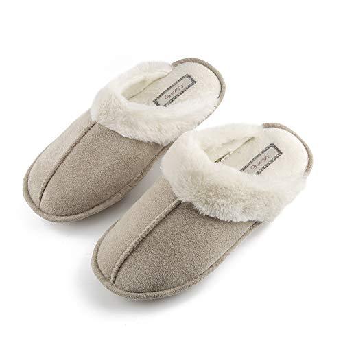 9bc096b0b Slippers For Woman Womens Slippers Fuzzy Slippers Womans Ladies Slippers  for Women House SlippersComfy Cozy Dearfoam