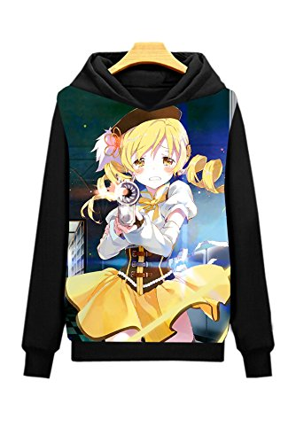 Dreamcosplay Puella Magi Madoka Magica Tomoe Mami Hoodies(Asian Size XXL)