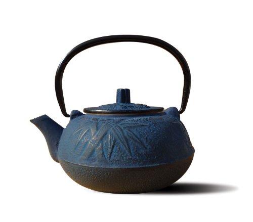 Old Dutch Cast Iron Osaka Teapot, 20-Ounce, Blue