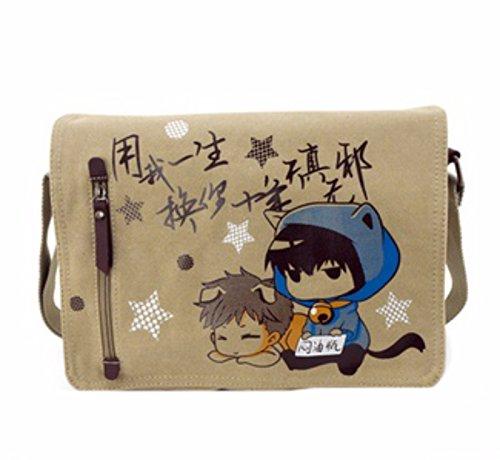 rare Schultertasche Tasche Shoulder Bag Rucksack reisetaschen Bräunen Kids FATE Gintama Tokyo Ghoul One piece Attack On Titan Fairy Tail new