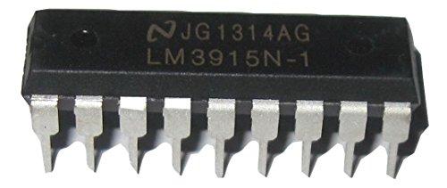 5PCS LM3915N-1 DIP18 LM3915-1 DIP LM3915N LM3915 DIP-18 New and Original IC