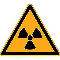 Pegatinas Alerta contra ionisierender Haz 12Unidades de 50mm