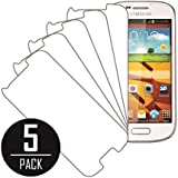 Samsung Galaxy Ring Screen Protector Cover, MPERO Collection 5 Pack of Clear Screen Protectors for Samsung Galaxy Prevail 2 / Galaxy Ring