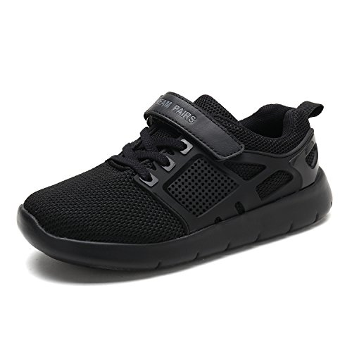 All Black Shoes For Kids - 6