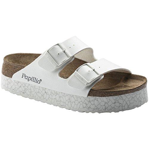 Papillio Women's Arizona Narrow Fit Platform Sandal Monochrome Marble White Marble White C65UulZ83z