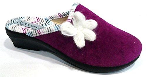 De Fonseca , Chaussons pour femme violet orchidée 36