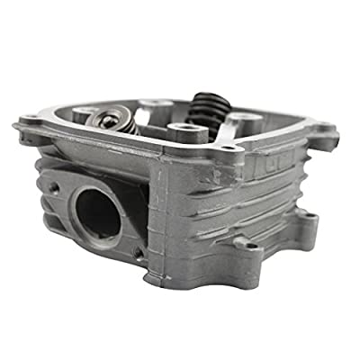 GOOFIT 57.4mm Cylinder Head Assembly Valve with GY6 150cc Chinese 152QMI 157QMJ ATV Quad Installed Scooter Moped Parts: Automotive