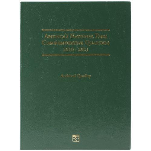 America National Park Commemorative Quarter Folder-2010-2021