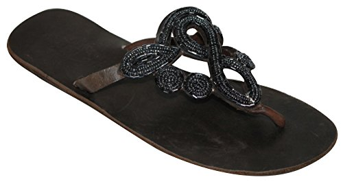 Aspiga Women's blue Sandals dark blue Thong 5 AAdqRr