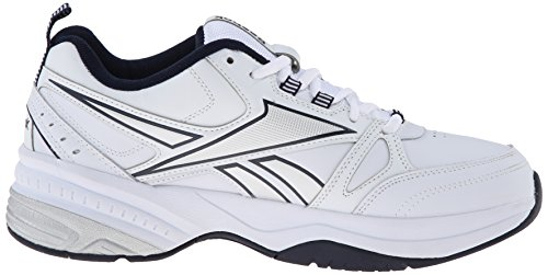 Collegiate 4E Shoes Navy Training Trainer Royal White Reebok Silver Men's Pure tXxq0nF