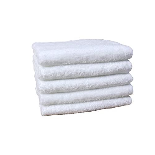 "Hot Jonny&Lora Compressed Hand Towels (5-packs, 12""x27"", White 100% Cotton) , Carry-on,Durable, Lightweight, Commercial Grade and Ultra Absorbent supplier"