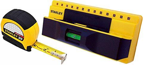STANLEY Stud Finder Sensor Detector ProSensor 5000+ AND LeverLock 25' Tape Measure