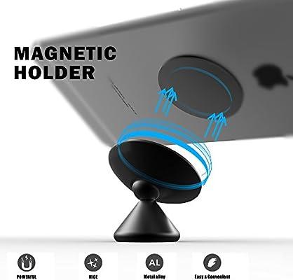 Amazon.com: Soporte magnético para coche, el Sr. mAh ...