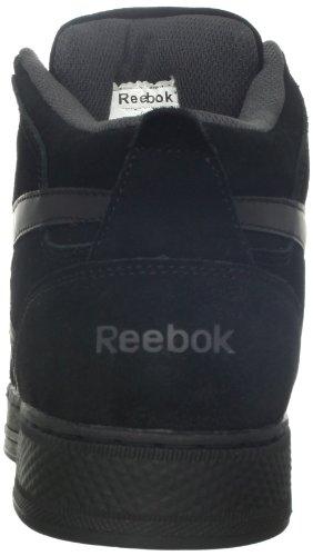 Reebok Work Mens Dayod Rb1735 Atletische Hi-top Veiligheidsschoen Zwart