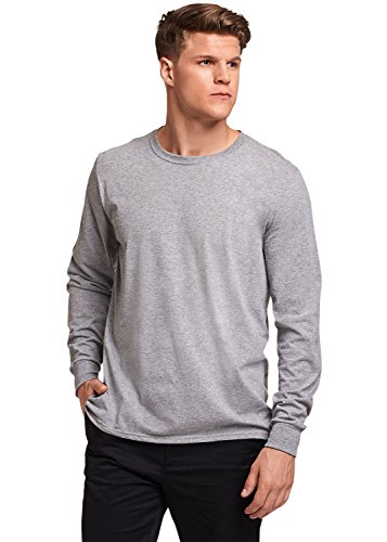 's Essential Long Sleeve Tee, Oxford, XXL ()