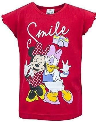 Filles Disney Minnie Mouse /& Daisy Duck Sourire Pois Short Pyjama 18 Mois /à 6 an
