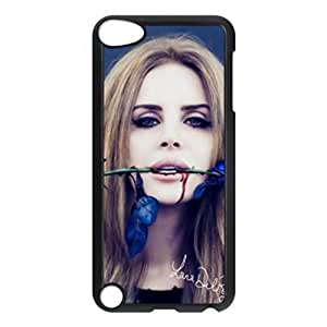 American Famous Singer Lana Del Rey Custom Unique Image for ipod 5th Generation Hard Case Cover Skin
