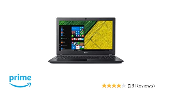 2513333904f2 Amazon.com  Latest model Black Acer Aspire A315 15.6
