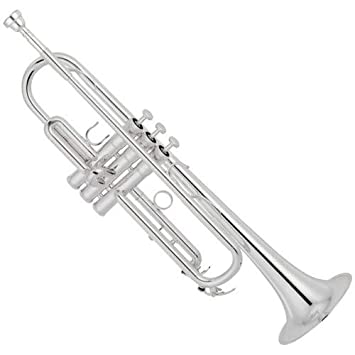 Yamaha YTR-8310ZS Bobby Shew Professional Bb Trumpet, Silver-Plated