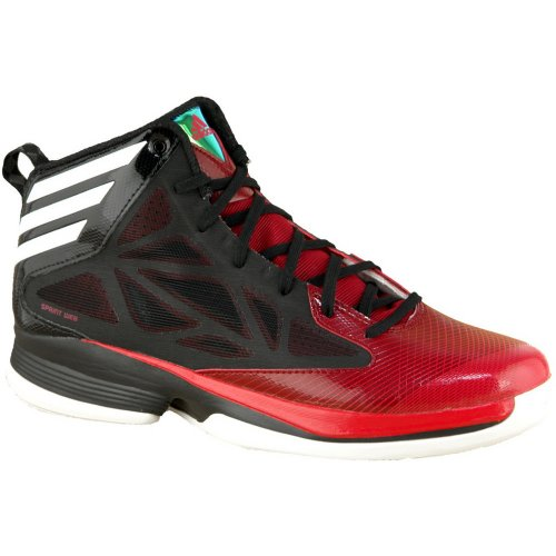 adidas Crazy Fast, Sneaker Uomo Black/Red