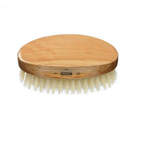 """Kent Gentleman's Hairbrush Model No. MG3, Oval 5""""x 2 3/4""""..."""