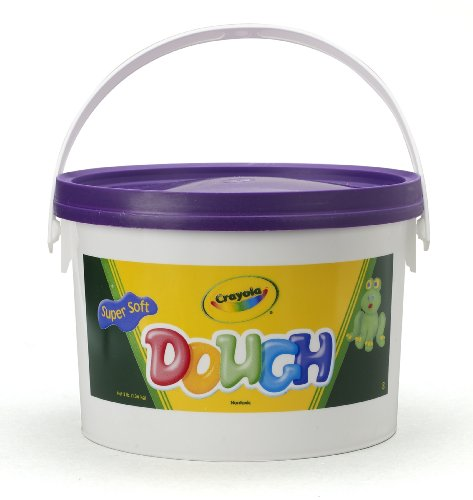 Crayola Dough 3-lb Bucket-Purple (Play Doh Bucket)