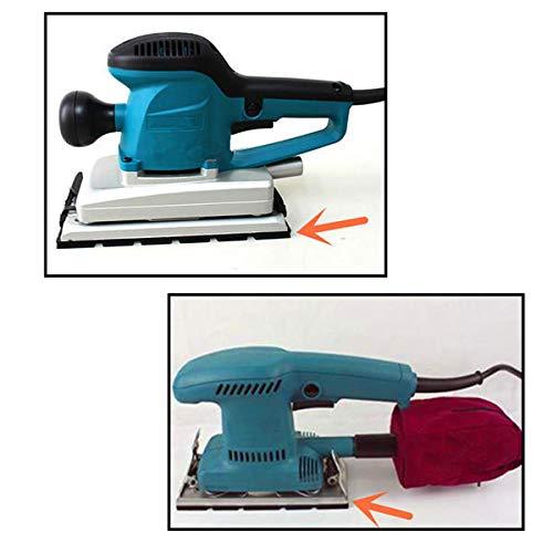 GIlH Sander Base Plate Backing Pad for Makita BO3700 BO3710 BO3711 Sander Spare Part