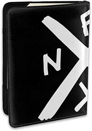 ノーエフエックス NOFX パスポートケース メンズ 男女兼用 パスポートカバー パスポート用カバー パスポートバッグ ポーチ 6.5インチ高級PUレザー 三つのカードケース 家族 国内海外旅行用品 多機能