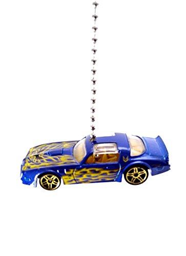 Hot Wheels Ceiling Fan Light Pulls 1/64 Diecast (1977 Firebird - Blue) ()