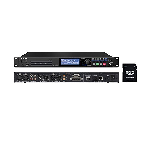 - Tascam SS-R250N Memory Recorder with EV Music 32gb SD Card