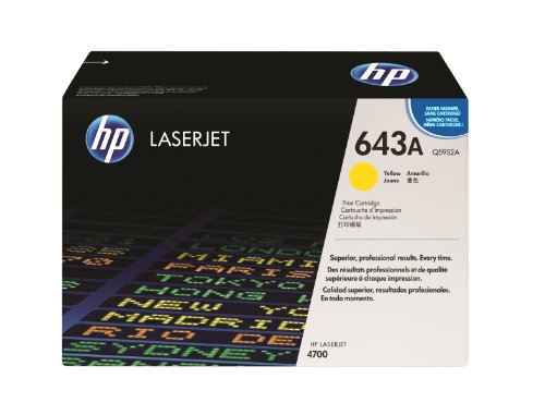 HP Q5952A Color LaserJet Print Cartridge – Retail Packaging – Yellow, Office Central