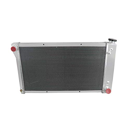 CoolingCare 52MM 3 Row Core Aluminum Radiator for Chevrolet/GMC C/K Series 10 20 30 Trucks Van 1967-72
