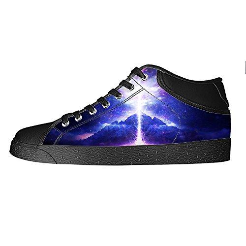 Custom illuminazione Womens Canvas shoes I lacci delle scarpe scarpe scarpe da ginnastica Alto tetto Nuevos Estilos sMvoEC4jyB