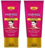 Bakson's Sunny Fairness Cream - 100g - Pack of 2