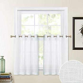 Amazon Com Vhc Brands Farmhouse Kitchen Window Curtains