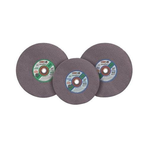 High Speed Gas Saws - Type 1 Cut-Off Wheels, High Speed Gas Saws - 14x5/32x20 mm a24-t-bf metal cutoff blade