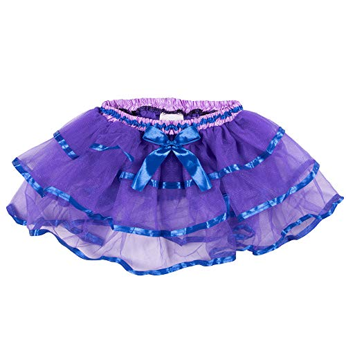 Boo! Inc Purple & Blue Costume Tutu for Toddlers | Ballerina Dancer]()