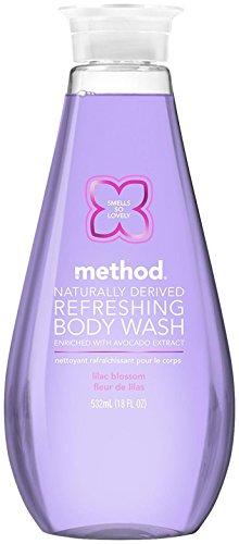 Method Refreshing Body Wash, Lilac Blossom, 18 Fluid Ounce