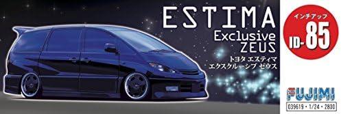 フジミ模型 1/24 インチアップシリーズ No.85 トヨタ エスティマ エクスクルーシブ ゼウス プラモデル ID85