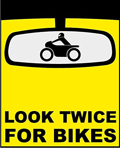 If You Have To Think Twice Funny Bumper Sticker Decal
