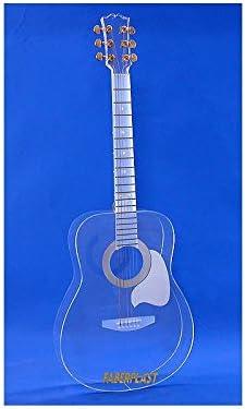 GUITARRA METACRILATO TRANSPARENTE (Plexiglas – PMMA): Amazon.es ...