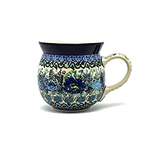 Polish Pottery Mug – 15 oz. Bubble – Unikat Signature U4520