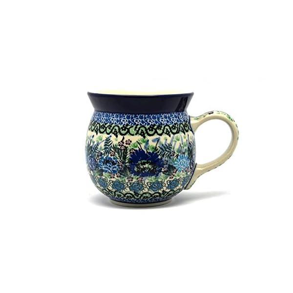 Polish Pottery Mug – 15 oz. Bubble – Unikat Signature U4520