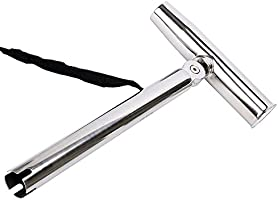 Outrigger Stylish Rod Holder Adjustable Silver Highly Polished Stainless 9968s