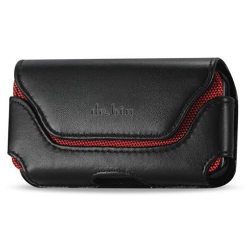 Galaxy Note 5 / Note 4 Belt Case, Debin Leather Galaxy Note 5 Note 4 Holster Case with Belt Clip and Loops, Plus Size Belt Pouch for Samsung Galaxy Note with Another Case on (Spigen and Others) ()